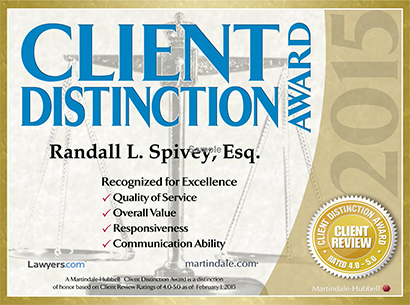 Client Distinction Award, Recognized for Excellence