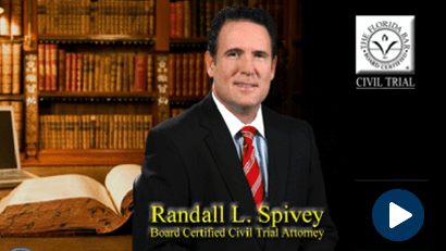 Randall Spivey, Board Certified Civil Trial Attorney