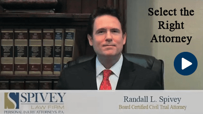 Select the Right Attorney, Randall Spivey, Board Certified Trial Attorney